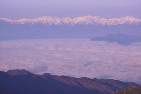 I shot it at a scenic spot in Japan. I Am Lucky to Be Able to Observe the Deep Sea of Clouds.