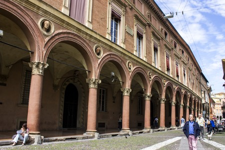 The Porticoes of the medieval city of Bologna, Italy, part of the Unesco Tentative Lists for World Heritage Site.