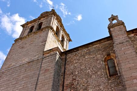 The Colegiata de Nuestra Senora de la Asuncion, a collegiate church in Medinaceli, Castile and Leon, Spain