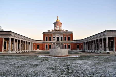 residence: The Marmorpalais or Marble Palace, a former royal residence in Potsdam, Germany, on the grounds of the Neuer Garten gardens by King Frederick William II of Prussia