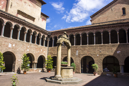 The Basilica di Santo Stefano and the Sette Chiese in Bologna, Italy