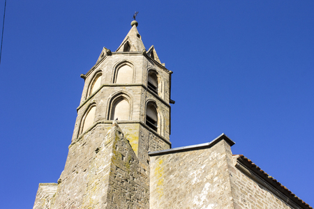 The ancient French village of Fanjeaux, home of Saint Dominic