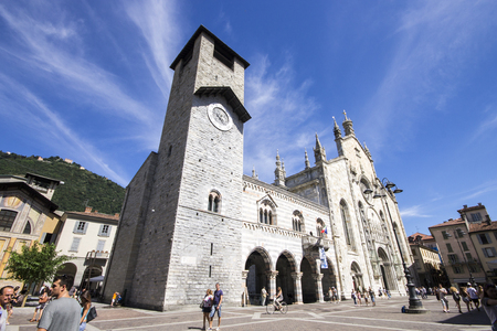 Como Cathedral (Cattedrale di Santa Maria Assunta, Duomo di Como), commonly described as the last Gothic cathedral built in Italy