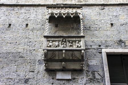 The Genoa Cathedral (Italian: Duomo di Genova, Cattedrale di San Lorenzo), a Roman Catholic cathedral in the Italian city of Genoa built in gothic style