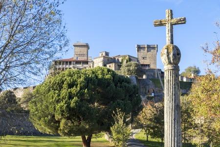 The Castelo de Monterrei, a 12th-century castle near the town of Verin, Galicia, Spain