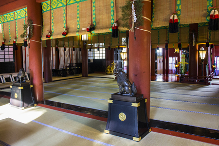 Futarasan jinja, a Shinto shrine in the city of Nikko, Japan. A World Heritage Site since 1999 報道画像