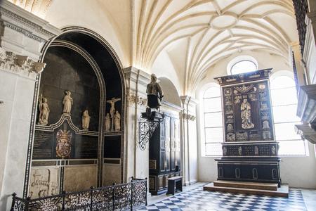 Inside the Hofkirche (Court Church). Innsbruck, State of Tyrol, Austria Editorial