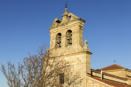 The Church of Our Lady of the Assumption (Iglesia de la Asuncion) in Peleas de Arriba, a small town in the Province of Zamora, Castile and Leon, Spain