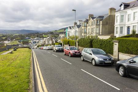 Ballycastle, Northern Ireland. Views of North Street downhill