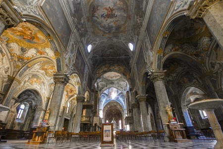 The Duomo di Monza, Italy. The only duomo that is not a cathedral, as Monza has always been part of the Diocese of Milan, but is in the charge of an archpriest Editorial