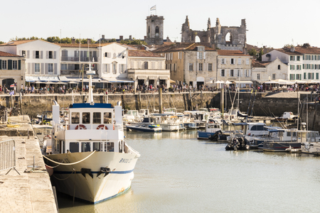 Saint-Martin-de-Re, France, one of the towns of the Ile de Re, an island off the west coast of France near La Rochelle