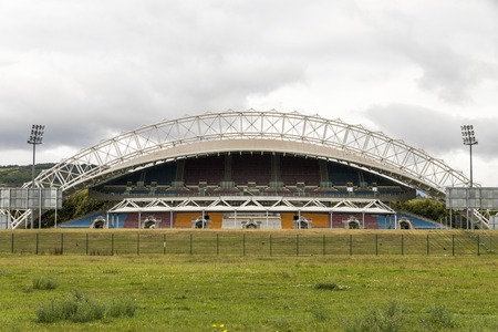 Clermont-Ferrand, France. The Stade Gabriel Montpied, a multi-use football stadium, home stadium of Clermont Foot