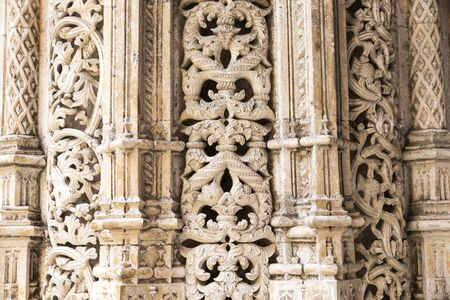 Batalha, Portugal. The Capelas Imperfeitas (Unfinished Chapels), part of the Monastery of Saint Mary.