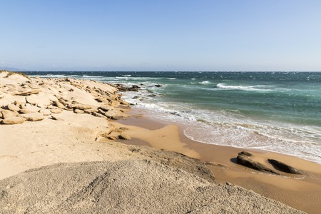 Barbate, Spain. The coast at Cape Trafalgar