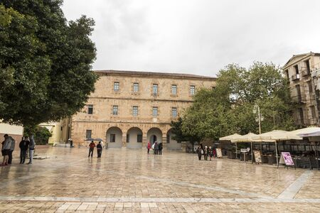 Nafplio, Greece. The Archaeological Museum in Plateia Syntagma (Constitution Square), a major landmark in the Old Town of Nafplio