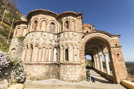 Mystras, Greece. The Pantanassa Monastery, founded by the late Byzantine Despotate of the Morea