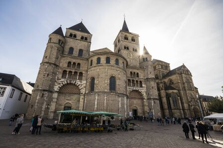 Trier, Germany. The Cathedral of Saint Peter and the Church of Our Lady, a World Heritage Site since 1986
