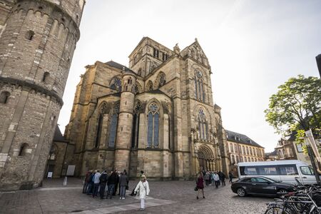 Trier, Germany. The Church of Our Lady, a World Heritage Site since 1986
