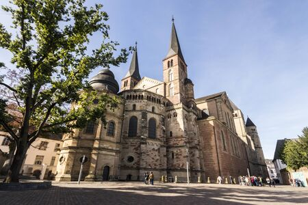 Trier, Germany. Gothic apse of the Cathedral of Saint Peter, a World Heritage Site since 1986