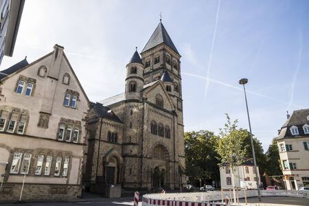 Trier, Germany. The Church of Saint Paul (Sankt Pauluskirche), a Roman catholic temple consecrated to Paul of Tarsus