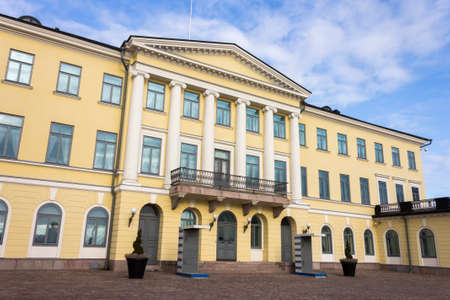 Helsinki, Finland. The President's Palace (Presidentinlinna) Editorial
