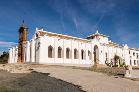 Lora del Rio, Spain. The Shrine of Setefilla, a Roman Catholic hermitage, home to a sculpture called the Virgen de Setefilla (Our Lady of Setefilla)