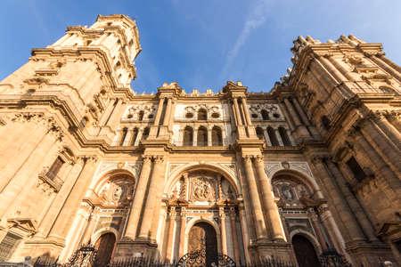 Malaga, Spain. The Cathedral of Nuestra Senora de la Encarnacion (Our Lady of the Incarnation)