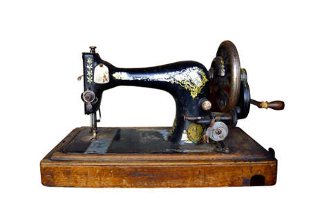 Old sewing machine photo