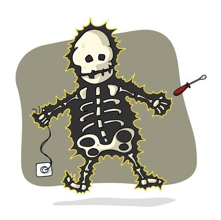 danger: scosse elettriche