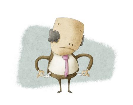 Hombre de negocios sin dinero Foto de archivo - 17998984