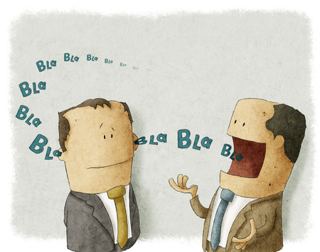 ignorance: Boss with employee