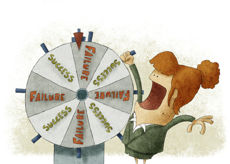 wheel of fortune: Success failure in wheel of fortune