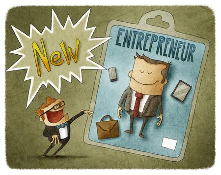 new entrepreneur Фото со стока - 54968311