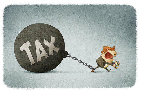 esclavo: encadenado a los impuestos