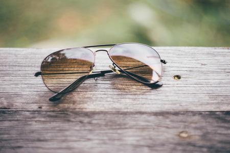 vintage sunglasses Standard-Bild