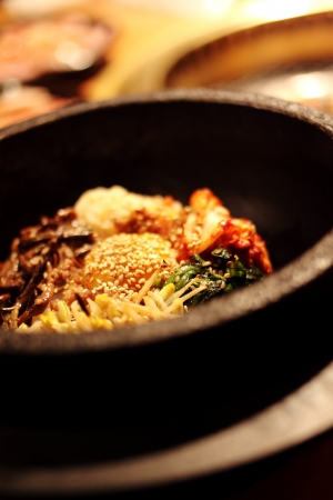 korean cuisine, Bibimbap photo