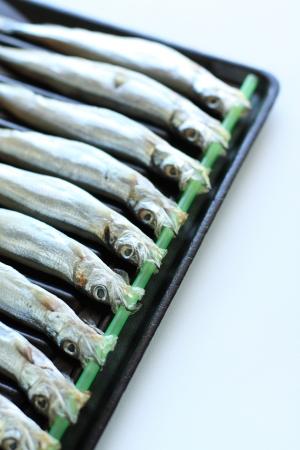smelt: Japanese cuisine,  raw shishamo smelt