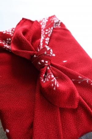 japanese culture: Japanese culture, present wrapped by traditional Furoshiki