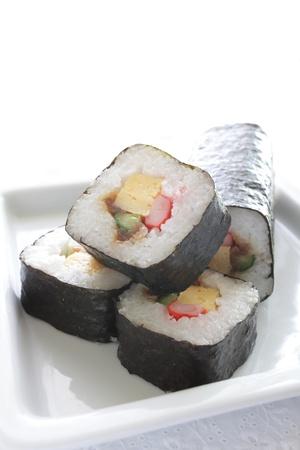Japnaese cuisine, sushi roll