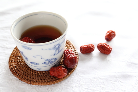 Chinese herbal tea for healthy medical drink image