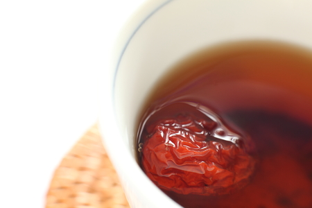 jujube fruits: Chinese herbal tea for healthy medical drink image