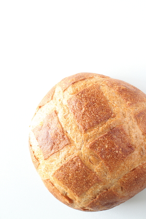 campagne: french bread with copy space