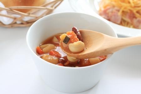 comida italiana: comida italiana, sopa minestrone