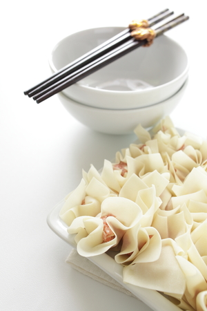 preparaba: Cocina china, preparada wonton
