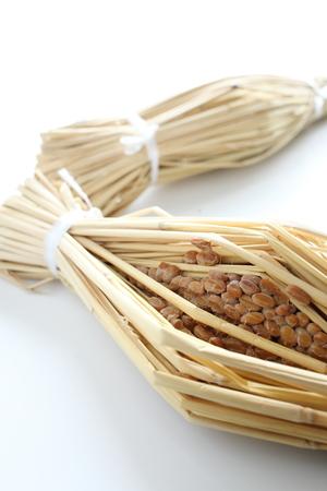 comida japonesa: Ingrediente comida japonesa, natto tradicional
