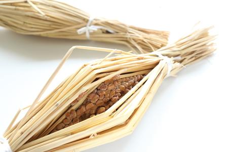 Japanische Lebensmittelzutat, Traditionelle Natto Standard-Bild - 23128180