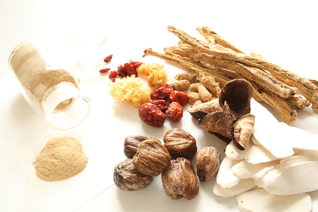 Chinese Medical isolated on white background