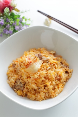 copys pace: pork and kimchi fried rice