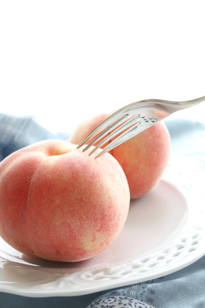 copys pace: freshness peach from Japan in summer season