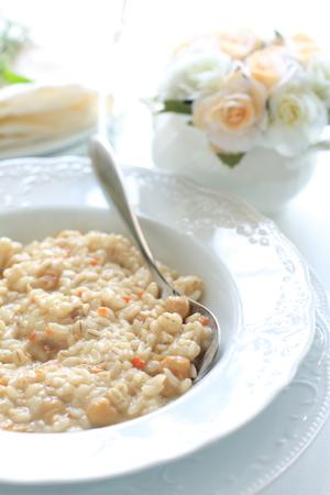 comida italiana: Comida italiana, rizotto